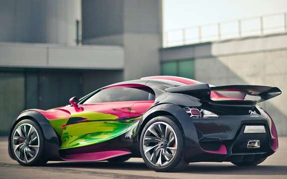 "Citroen Survolt Concept: Version ""ArtCar"" picture #2"