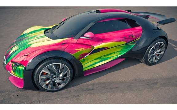 "Citroen Survolt Concept: Version ""ArtCar"" picture #3"