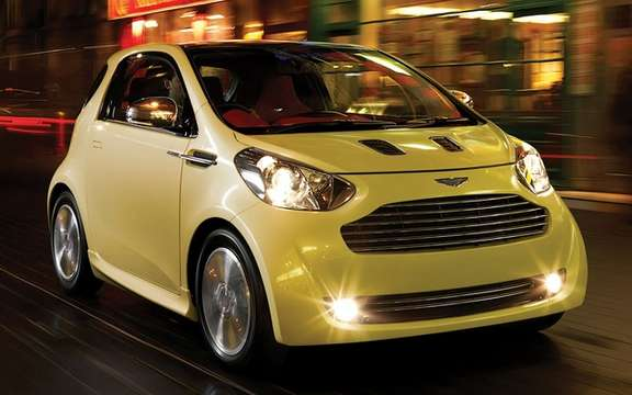 Aston Martin Cygnet: To minimize its CO2 emissions