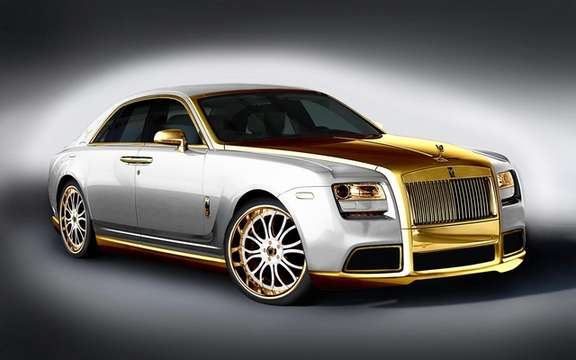 Roll's Royce Ghost Diva: Gold Fenice Milano picture #3