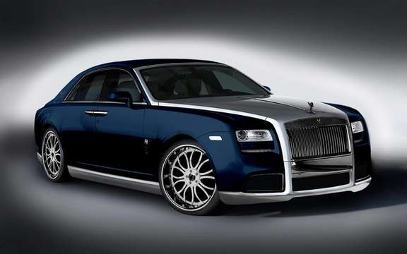 Roll's Royce Ghost Diva: Gold Fenice Milano picture #5
