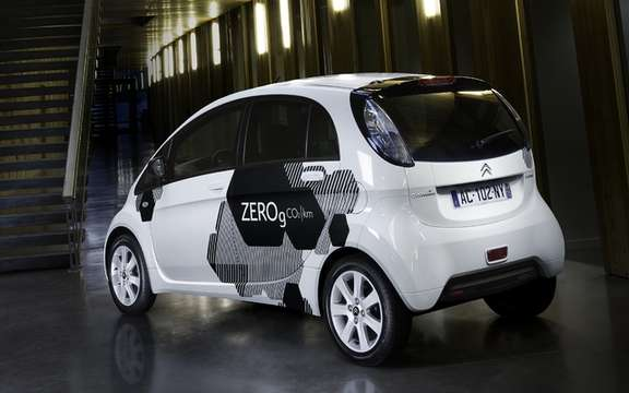 Citroen C-Zero and Berlingo Electric: A commercial reality picture #2
