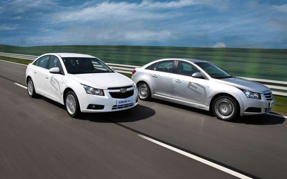Chevrolet Cruze EV: South Korean initiative