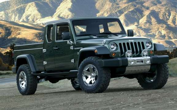 Jeep Wrangler Pick Up Truck: Back to Basics