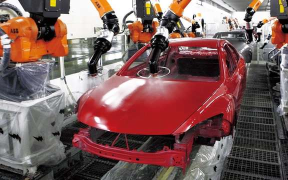 Mazda6: Two million units produced