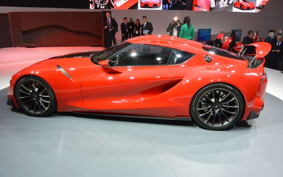 Toyota FT-1 Concept: BMW wait! picture #7