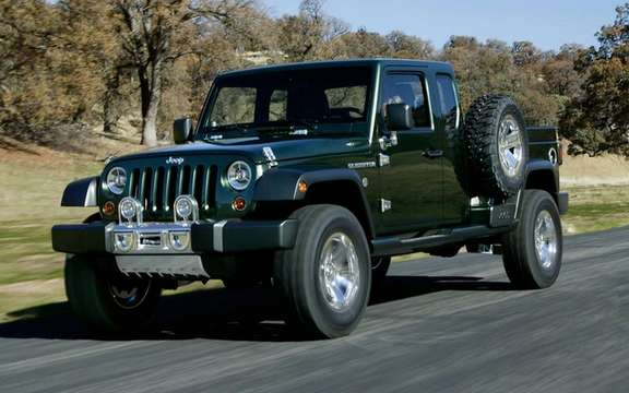 Jeep Wrangler Pick Up Truck: Back to Basics picture #2