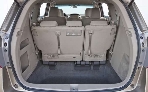 Honda Canada announces pricing for sale 2011 Odyssey picture #3