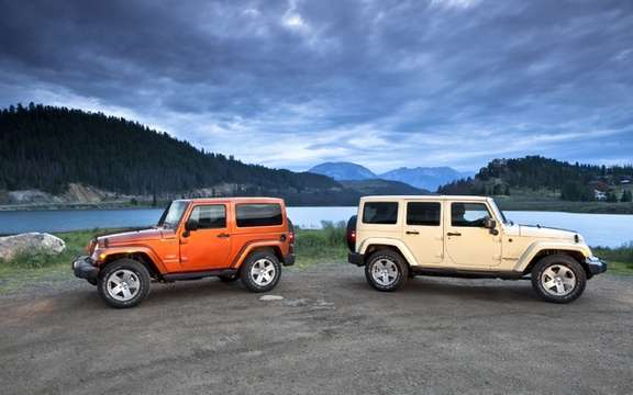 Jeep Wrangler / Wrangler Unlimited 2011: Changes Interior