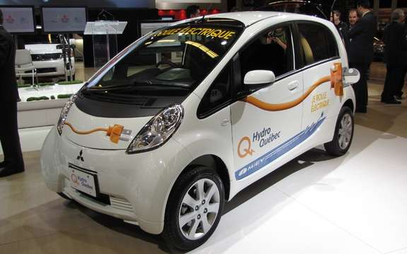 Mitsubishi i-MiEV: On tour in Boucherville and Pointe-Claire
