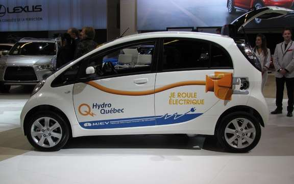 Mitsubishi i-MiEV: On tour in Boucherville and Pointe-Claire picture #2