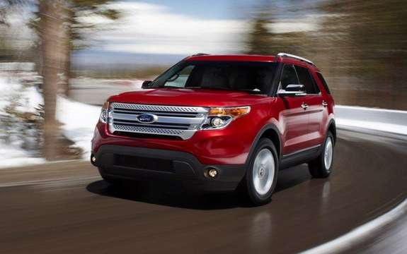 Ford Explorer 2011: On tour across Canada