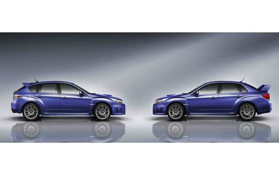 Subaru Announces Pricing for 2011 Impreza WRX and STI