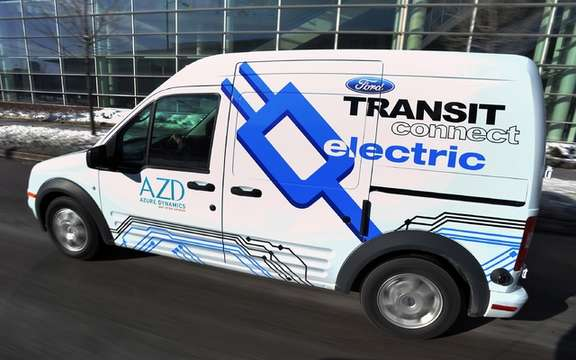 Ford Transit Connect Electric: Sale Agreement with Canada Post picture #2