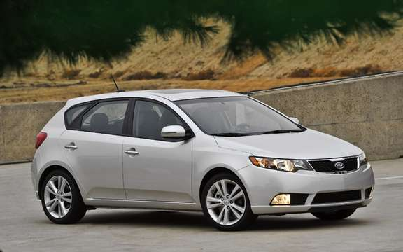 Kia Forte5 2011: A version hatchback very expected