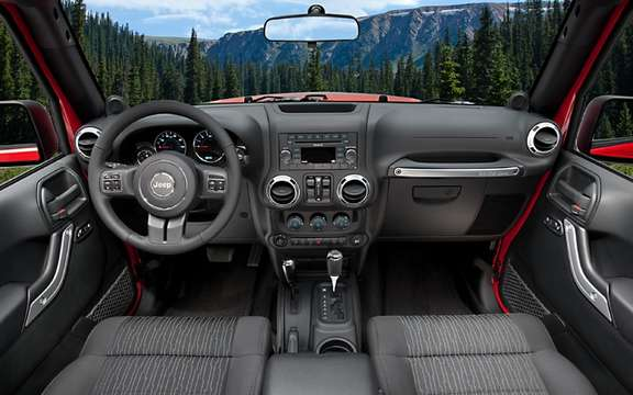 Jeep Wrangler / Wrangler Unlimited 2011: Changes Interior picture #9
