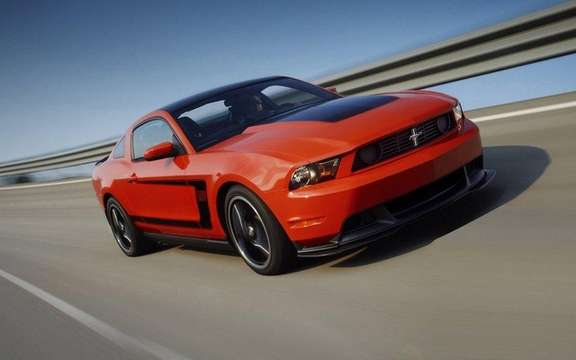 Ford Mustang Boss 302 2012: From 1969 to today picture #1