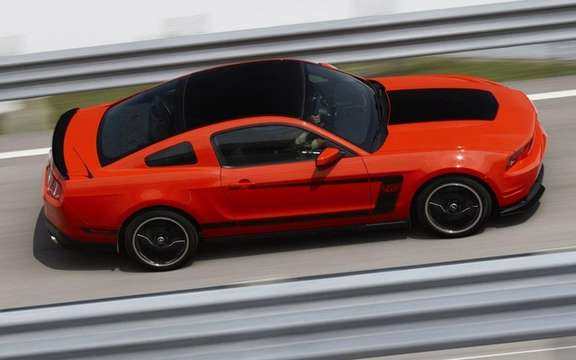 Ford Mustang Boss 302 2012: From 1969 to today picture #2