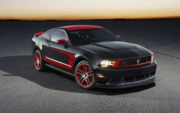 Ford Mustang Boss 302 Laguna Seca: From the track to the road picture #3