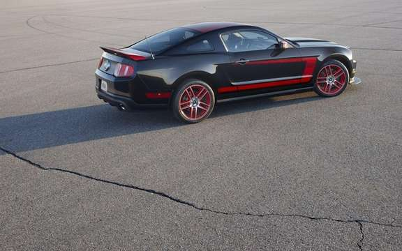 Ford Mustang Boss 302 Laguna Seca: From the track to the road picture #4