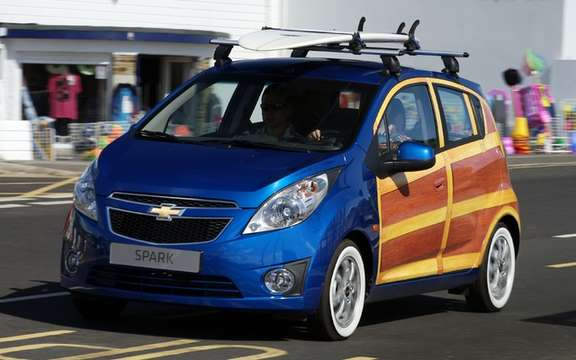 Chevrolet Spark Woody Good: Back to the '50s