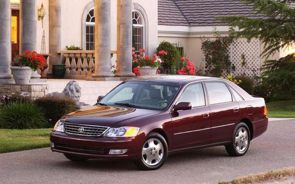 Toyota Avalon 2000 2004: A reminder of 4,200 cars in Canada