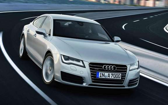 Audi A7 Sportback 2011: In cut version five doors