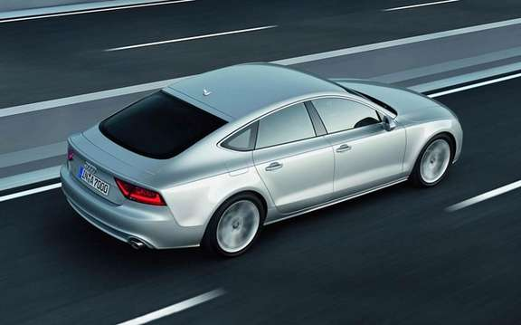 Audi A7 Sportback 2011: In cut version five doors picture #2