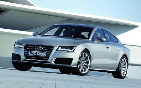 Audi A7 Sportback 2011: In cut version five doors picture #3