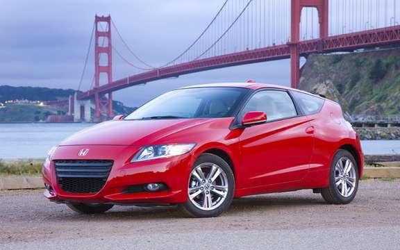 Honda Canada sets the price of its entry model CR-Z $ 23,490 picture #1