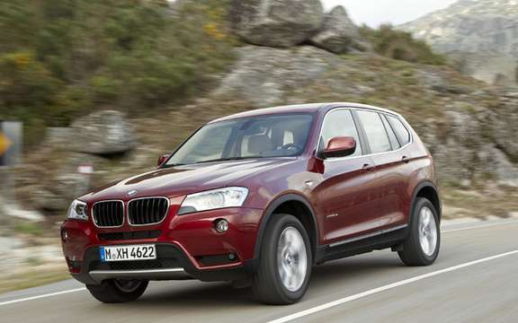 2011 BMW X3: Surprenant many levels