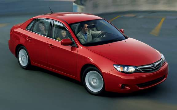 Subaru Impreza 2.5 i 2011: New features and new sets