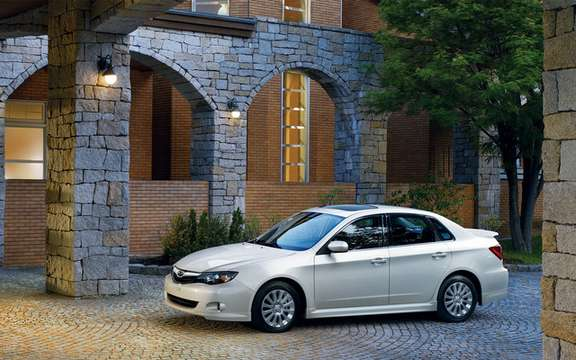 Subaru Impreza 2.5 i 2011: New features and new sets picture #2
