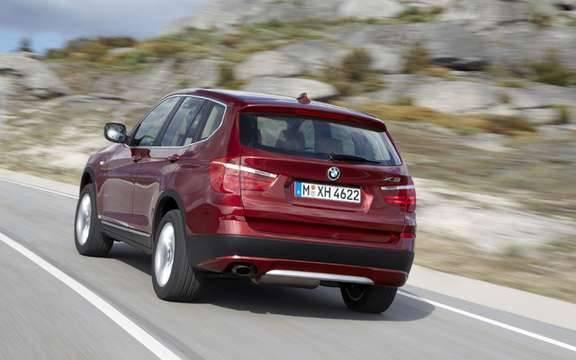 2011 BMW X3: Surprenant many levels picture #2
