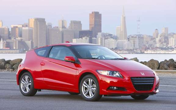 Honda Canada sets the price of its entry model CR-Z $ 23,490 picture #3