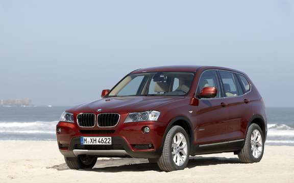 2011 BMW X3: Surprenant many levels picture #3