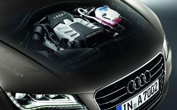 Audi A7 Sportback 2011: In cut version five doors picture #8
