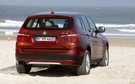 2011 BMW X3: Surprenant many levels picture #4