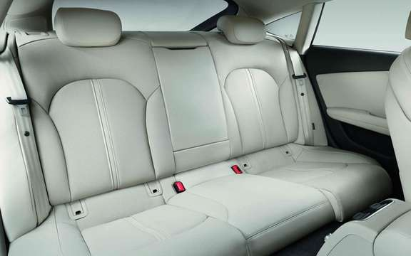 Audi A7 Sportback 2011: In cut version five doors picture #9