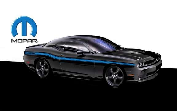 Mopar Dodge Challenger? : Only 500 copies produced