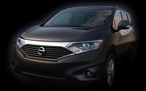 2011 Nissan Quest: Minivan has Japanese sauce term picture #1