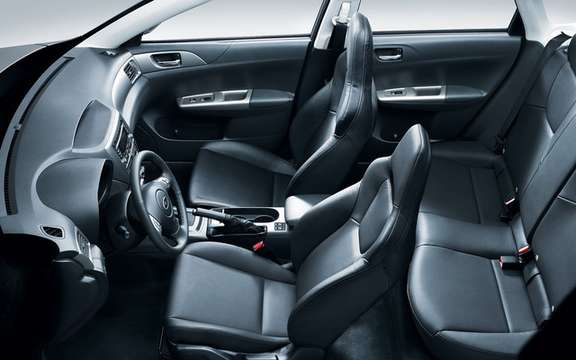 Subaru Impreza 2.5 i 2011: New features and new sets picture #6