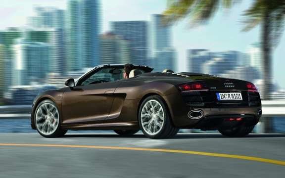 Audi R8 Spyder 4.2 FSI: More Affordable! picture #2