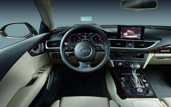 Audi A7 Sportback 2011: In cut version five doors picture #10