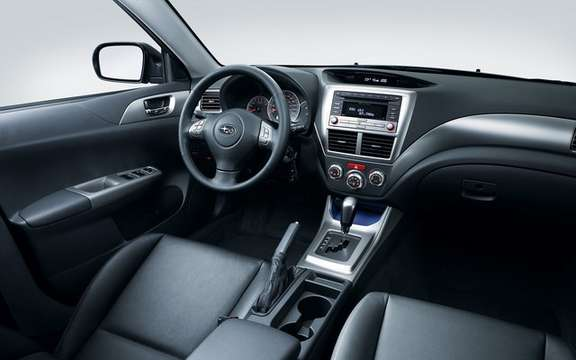 Subaru Impreza 2.5 i 2011: New features and new sets picture #7