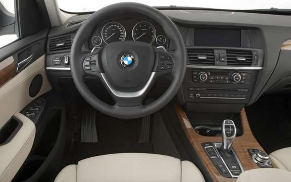 2011 BMW X3: Surprenant many levels picture #6