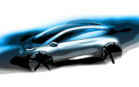 BMW CompactivE: Small subcompact electric picture #1
