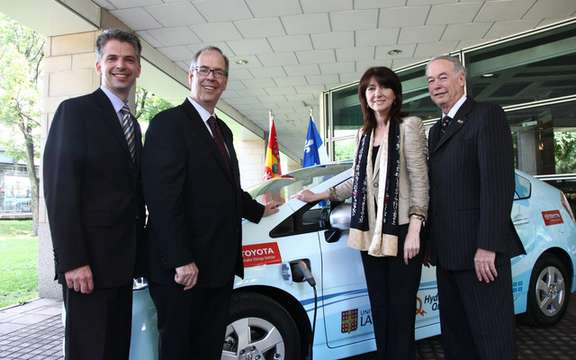 Toyota Prius Plug-in Hybrid: In a tour through Quebec