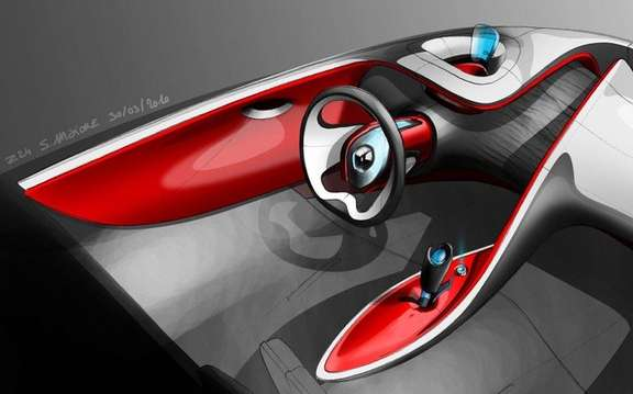 Renault DeZir: A concept simplifies both picture #8