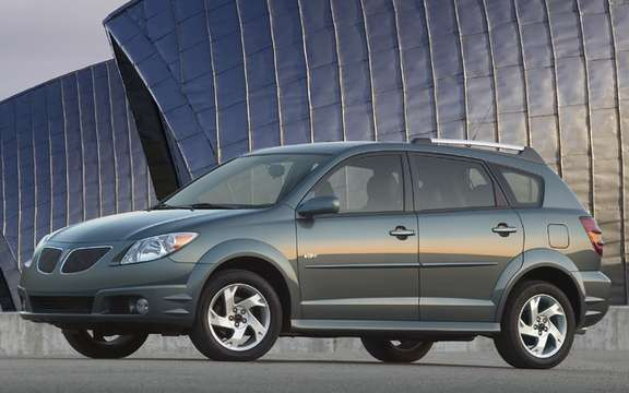 Pontiac Vibe 2005 2008 recalled by Toyota